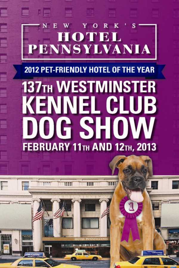 New york s hotel pennsylvania prepares to welcome 2013 for Dog friendly hotel nyc