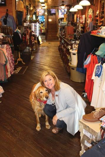 historic Collierville offers vintage memories and sentimental tradition.