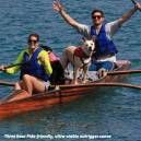 Fido Friendly outrigger canoe excursion
